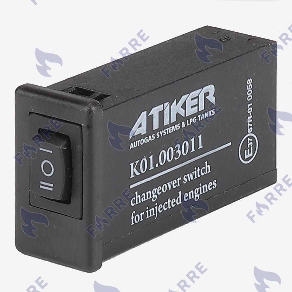 Кнопка инжекторная Atiker W с индикацией
