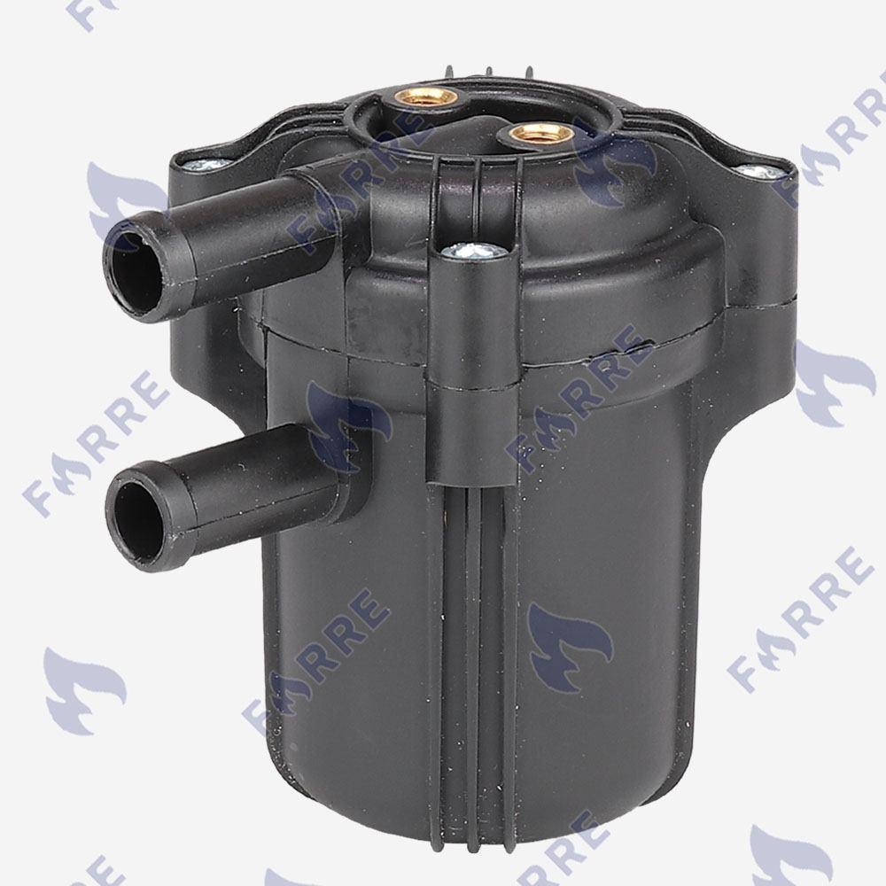 Фильтр тонкой очистки 12х12 c отстойником 1 вход 1 выход