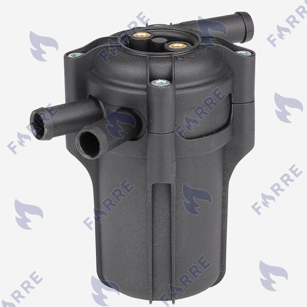 Фильтр тонкой очистки 12х12 c отстойником 1 вход 2 выхода