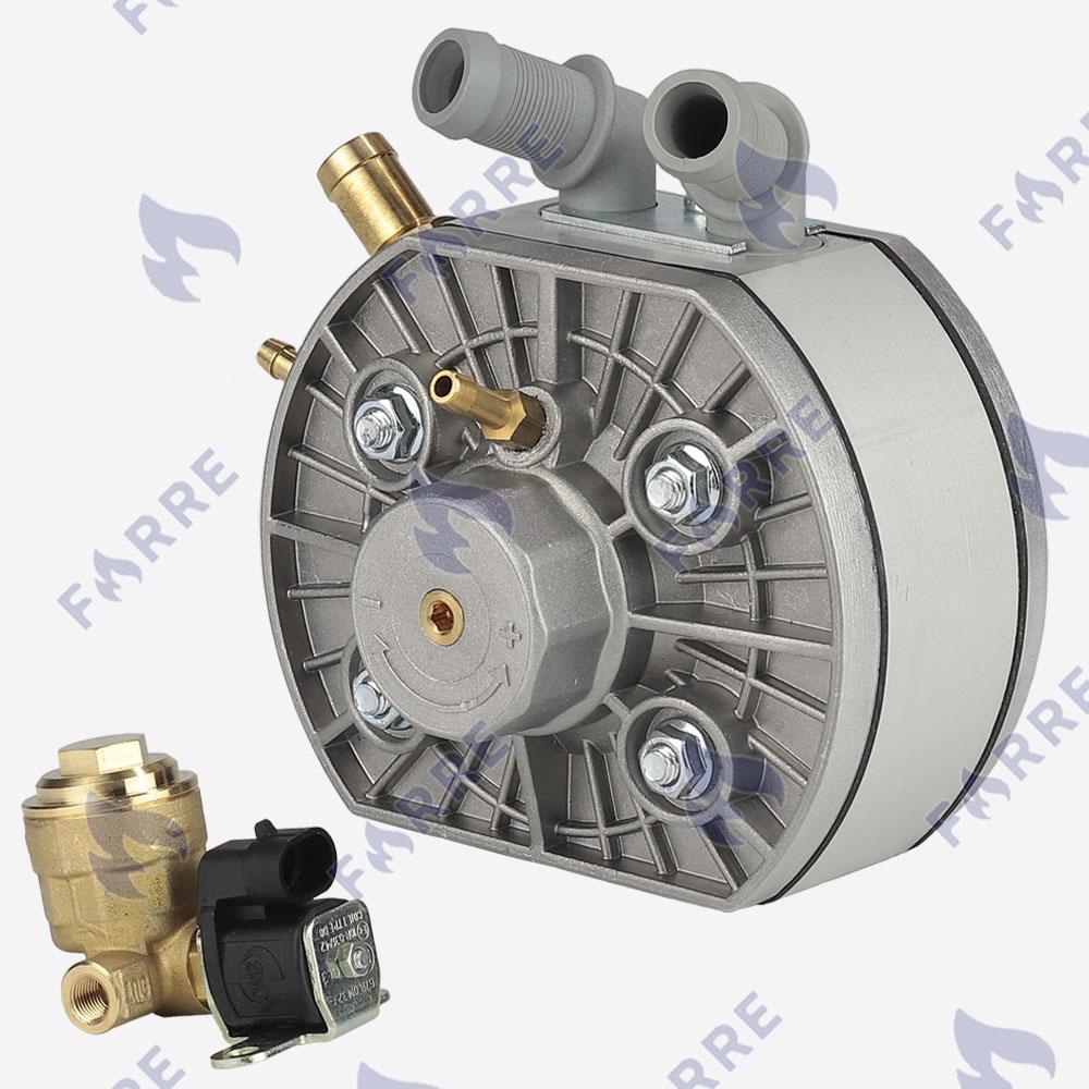 Редуктор KME Silver S6 до 220 л.с. с клапаном газа