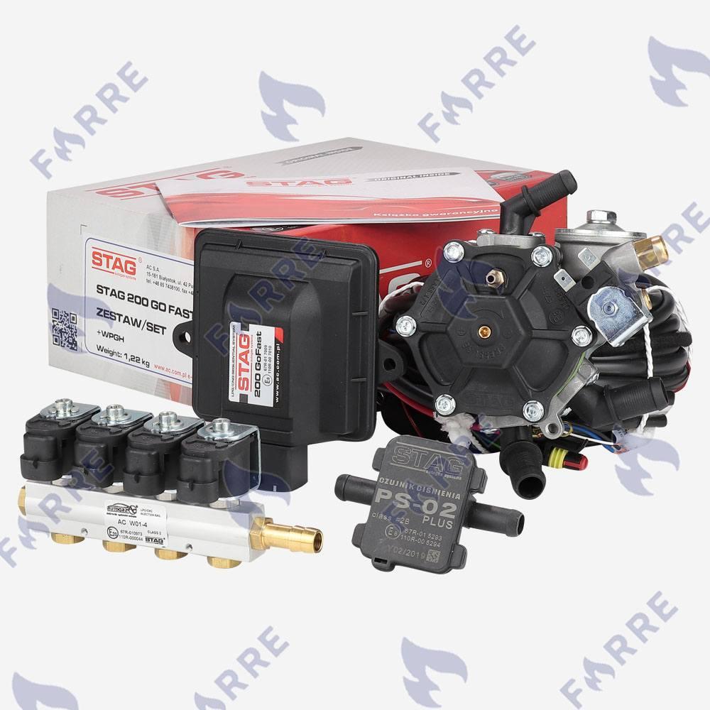 Подкапотка 4 цил Stag-200 Go Fast, AC Stag R02, Stag AC W01