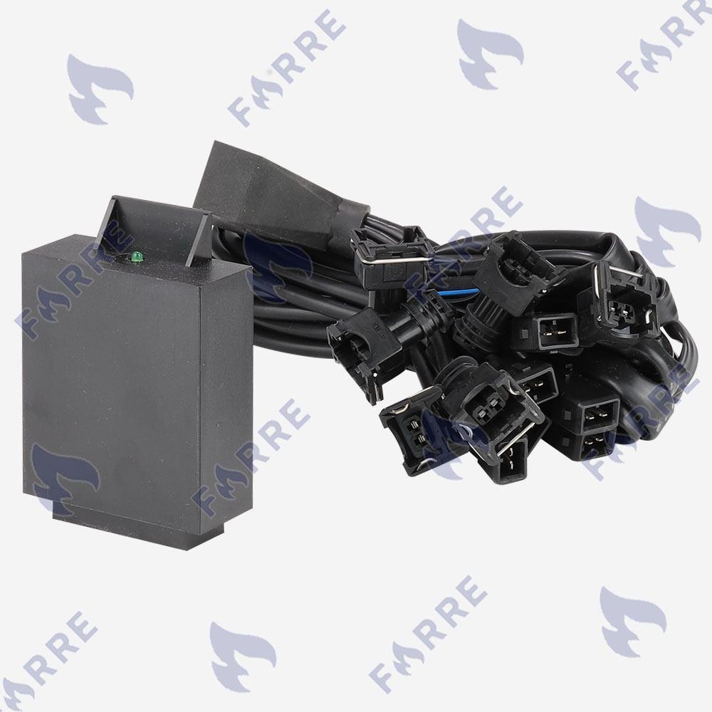 Эмулятор форсунок Tamona 6 цилиндров с разъемами Europa/Bosch