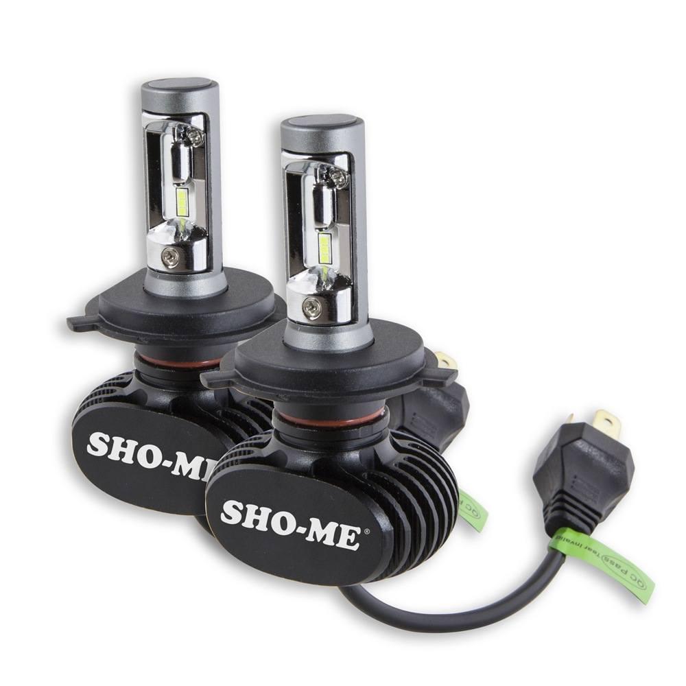 LED лампа SHO-ME G8.2 H4 6000K 25W (2 шт.)