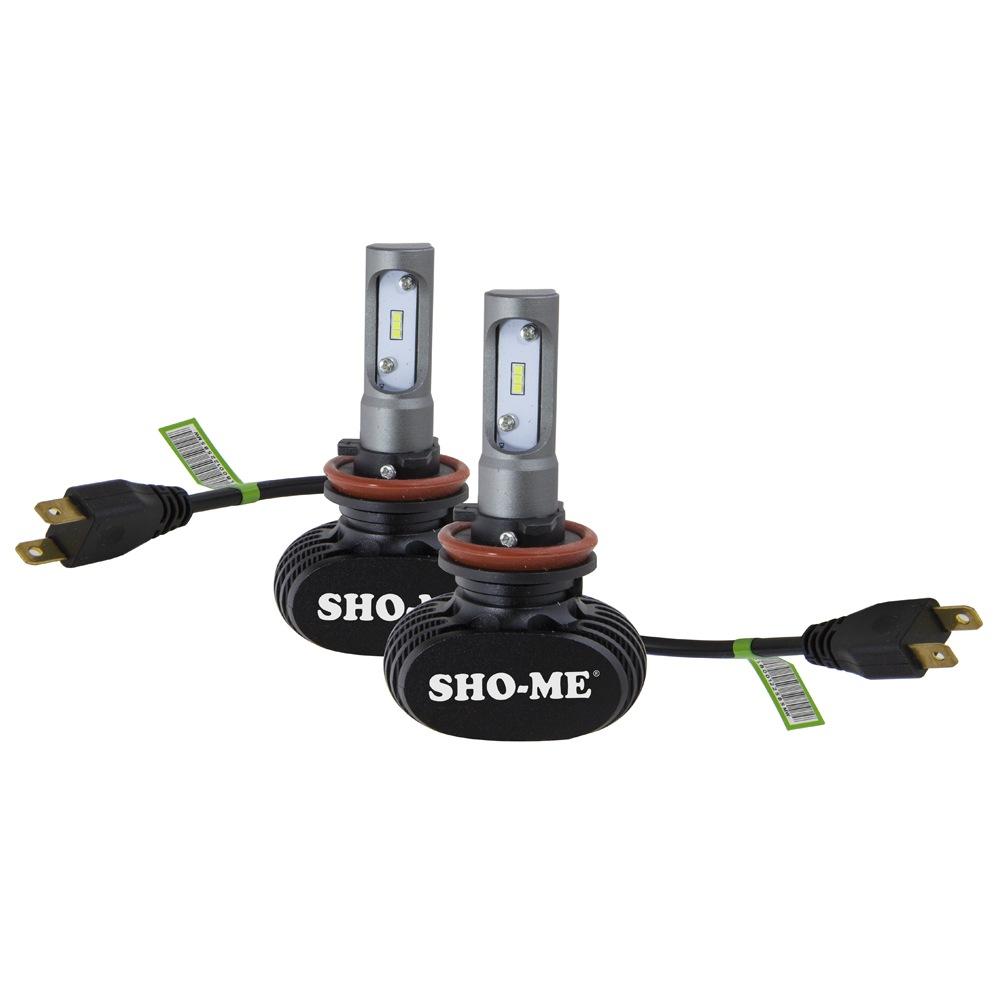 LED лампа SHO-ME G8.2 H11 6000K 25W (2 шт.)