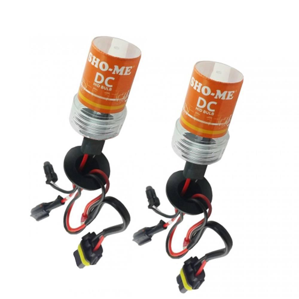 Ксеноновая лампа SHO-ME HB3 (9005) 5000K DC Xenon (2 шт.)