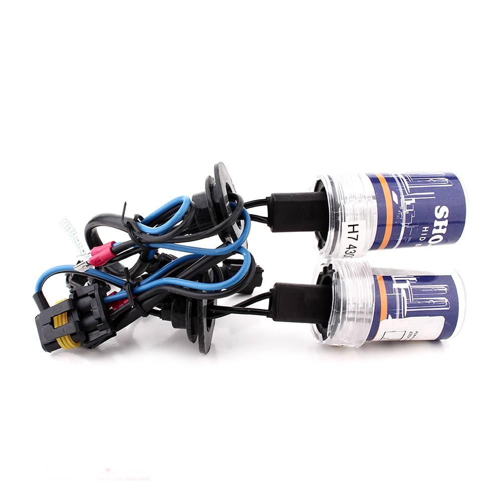 Ксеноновая лампа SHO-ME H7 4300K 35W Xenon (2 шт.)