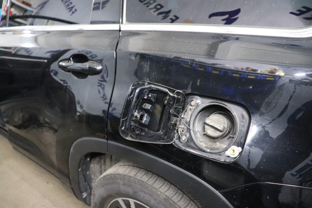 установка ГБО на Toyota Highlander