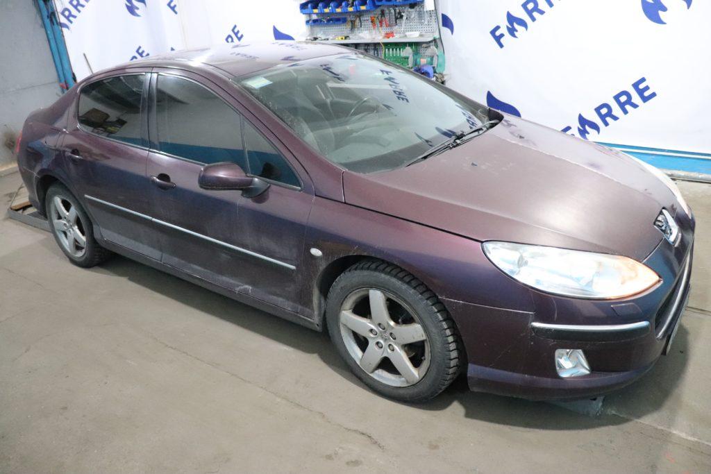 установка ГБО Peugeot 407