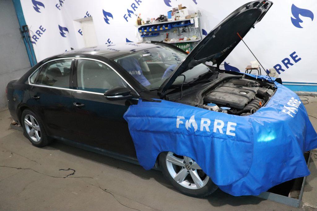 Установка ГБО на Volkswagen Passat