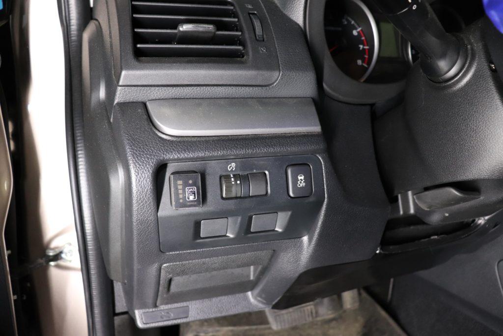 установка ГБО на Subaru Forester