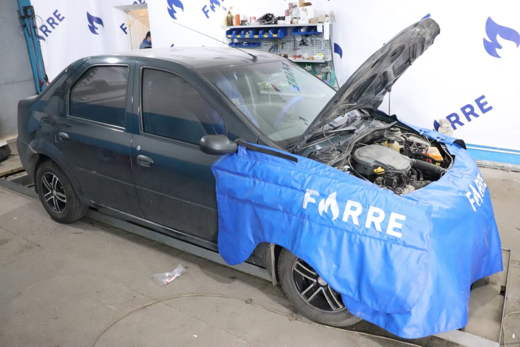 установка ГБО на Dacia Logan