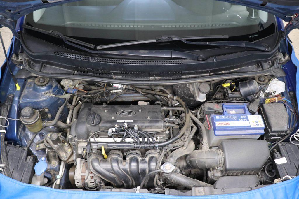 установка ГБО на Hyundai Accent