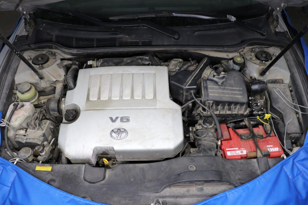 установка ГБО на Toyota Camry