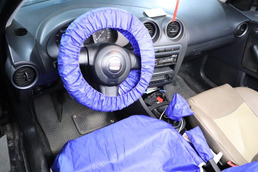 установка ГБО на Seat Cordoba