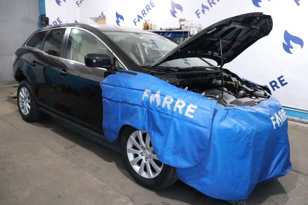 установка газобаллонного оборудования на Mazda CX-7