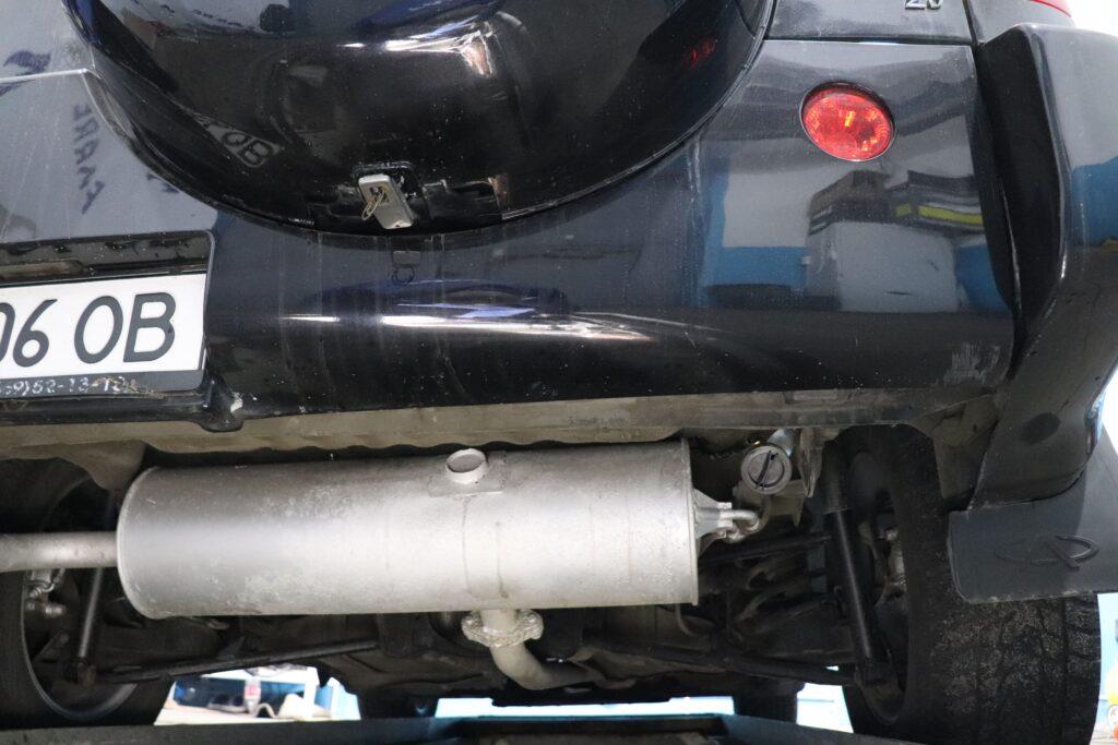 установка газобаллонного оборудования на Chery Tiggo