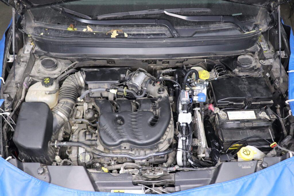 установка газобаллонного оборудования на Jeep Cherokee