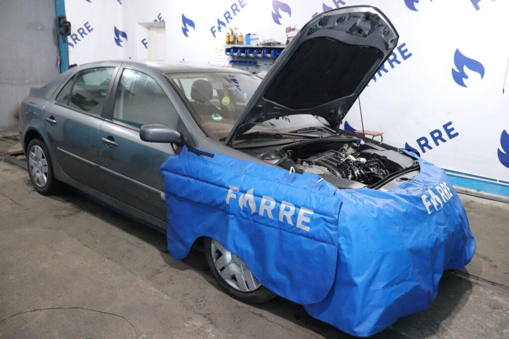 установка газобаллонного оборудования на Renault Laguna