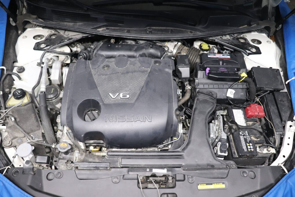 установка газобаллонного оборудования на Nissan Maxima