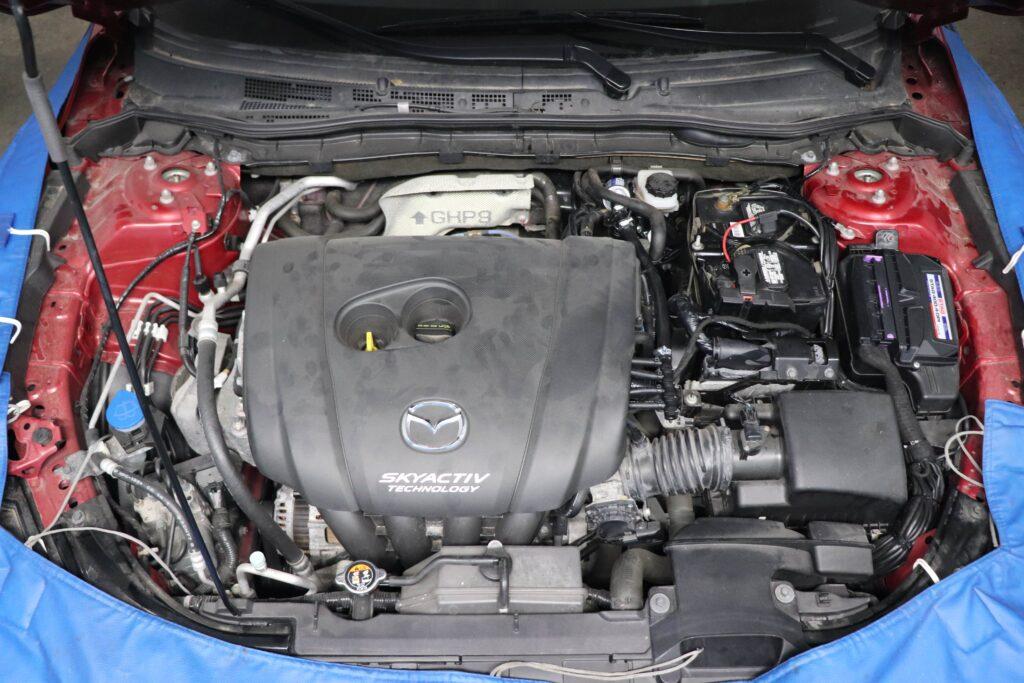 установка газобаллонного оборудования на Mazda6 SkyActiv
