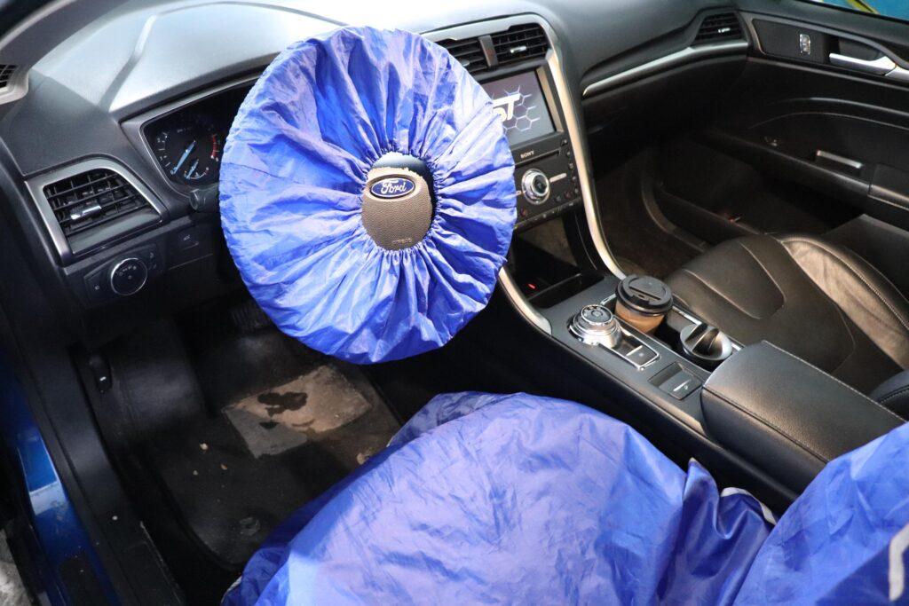 установка газобаллонного оборудования на Ford Fusion
