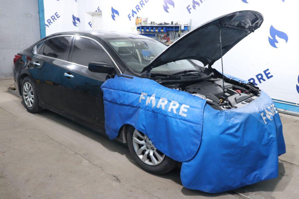 установка газобаллонного оборудования на Nissan Altima