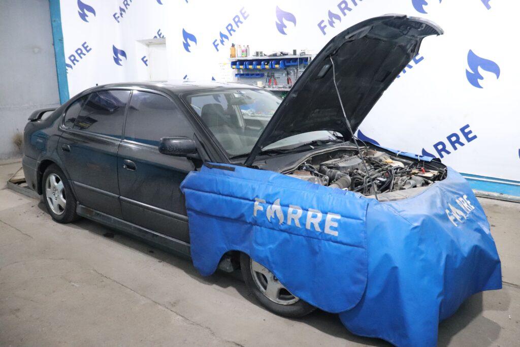 установка газобаллонного оборудования на Subaru Legacy