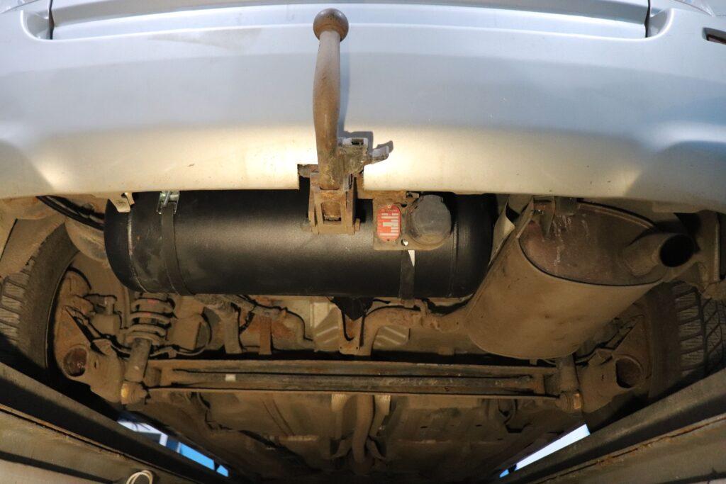 установка газобаллонного оборудования на Toyota Verso