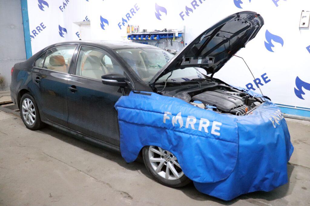 установка газобаллонного оборудования на Volkswagen Jetta