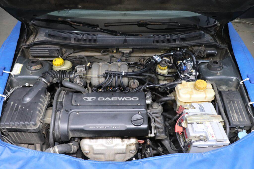 газобаллонное оборудование на Daewoo Nubira