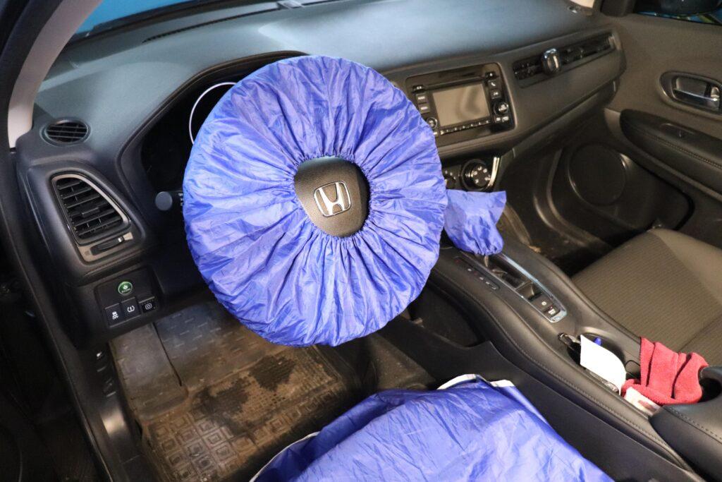 установка газобаллонного оборудования на Honda HR-V