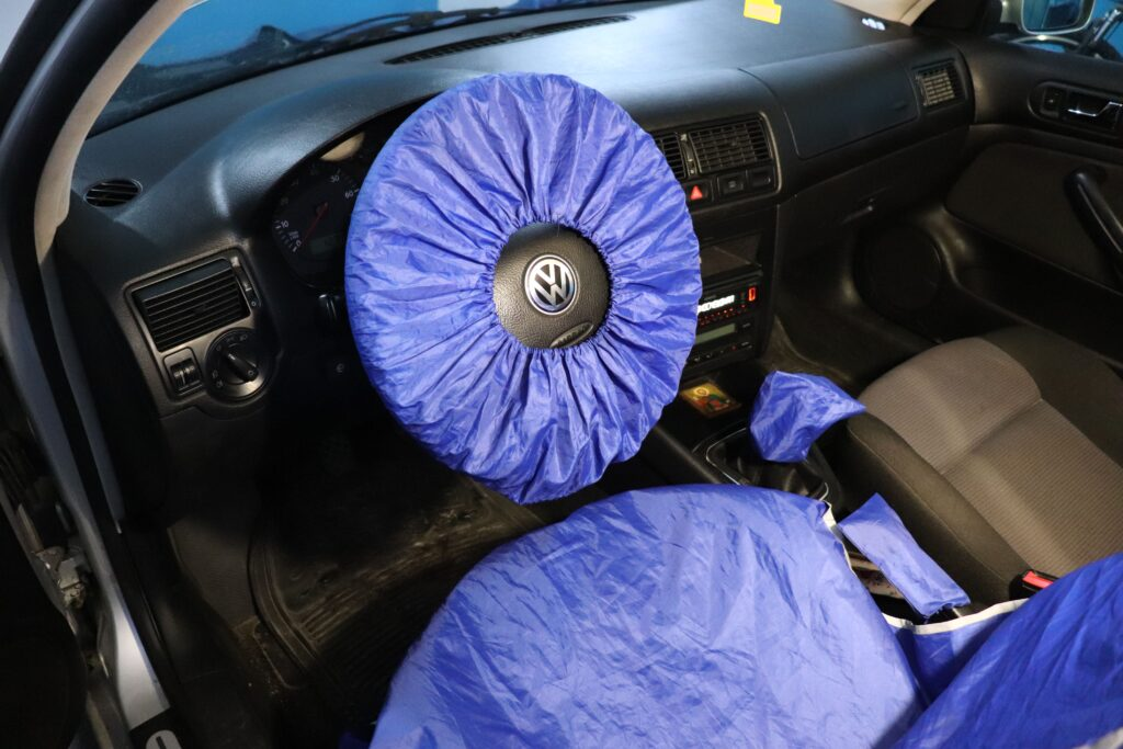 установка газобаллонного оборудования на Volkswagen Golf