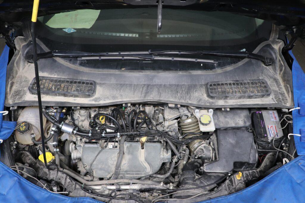 установка газобаллонного оборудования на Ford Escape Ecoboost