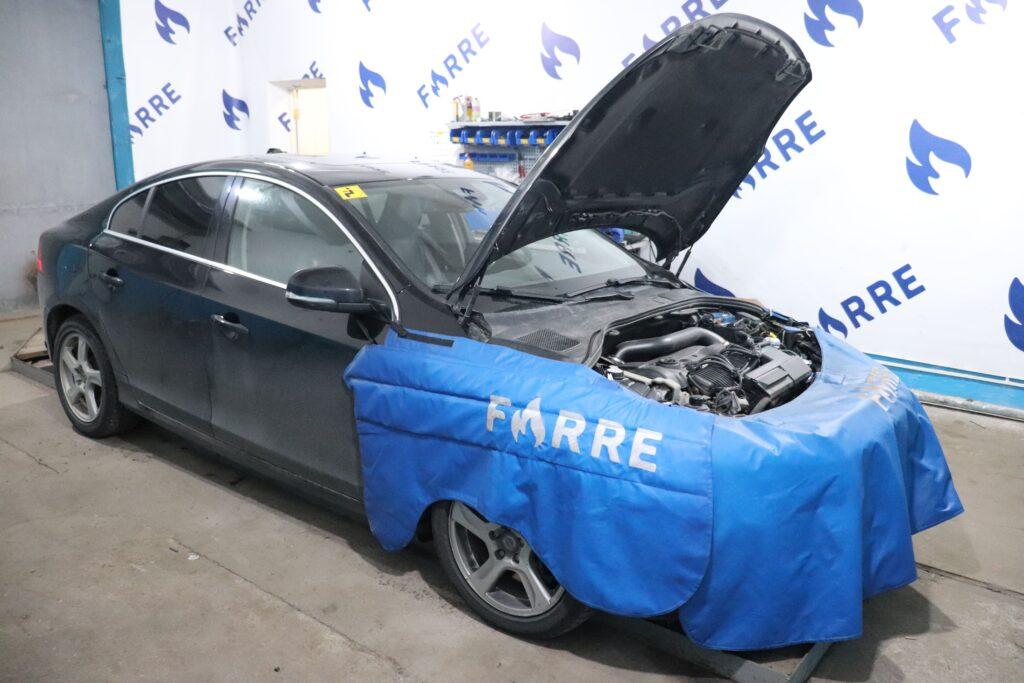 установка газобаллонного оборудования на Volvo S60