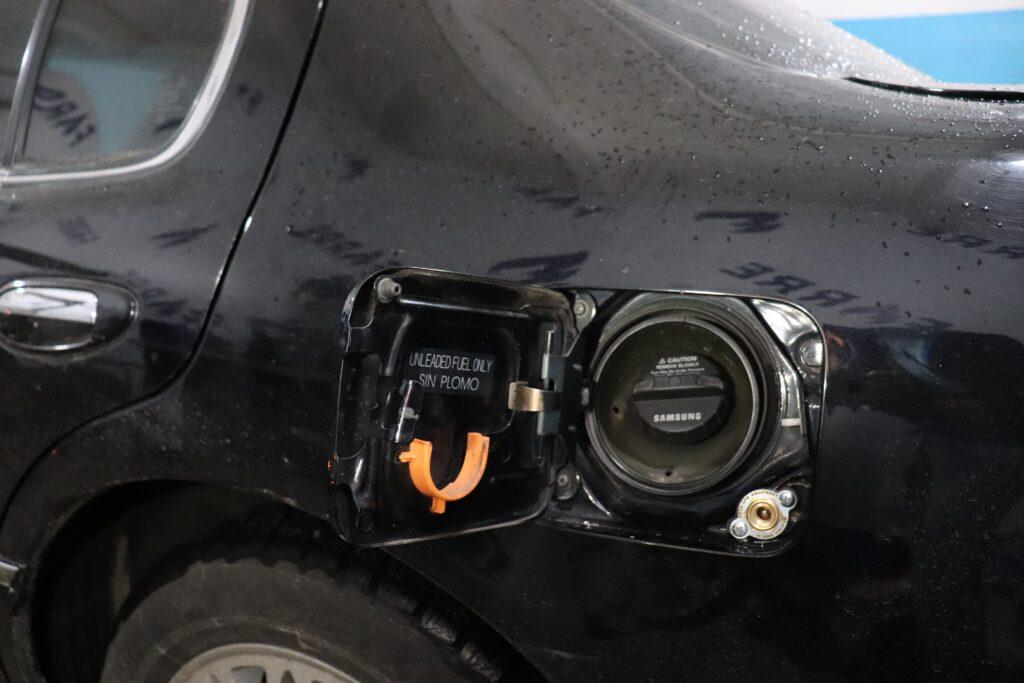 установка газобаллонного оборудования на Samsung SM5