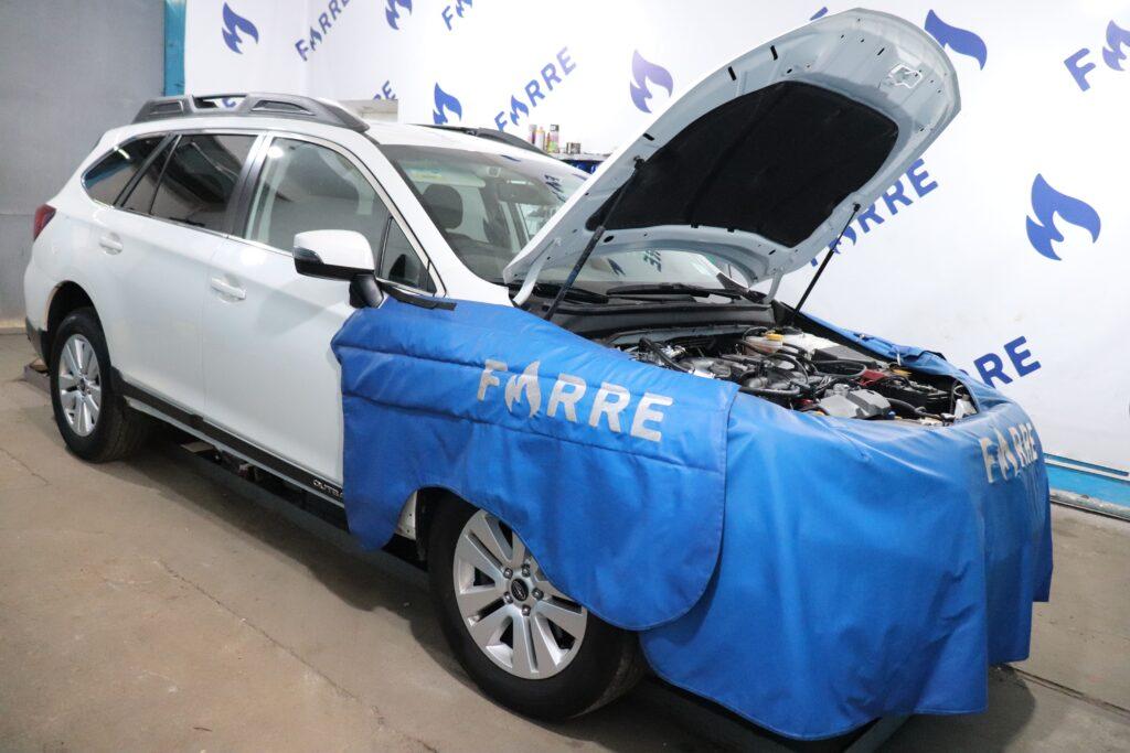 установка газобаллонного оборудования на Subaru Outback