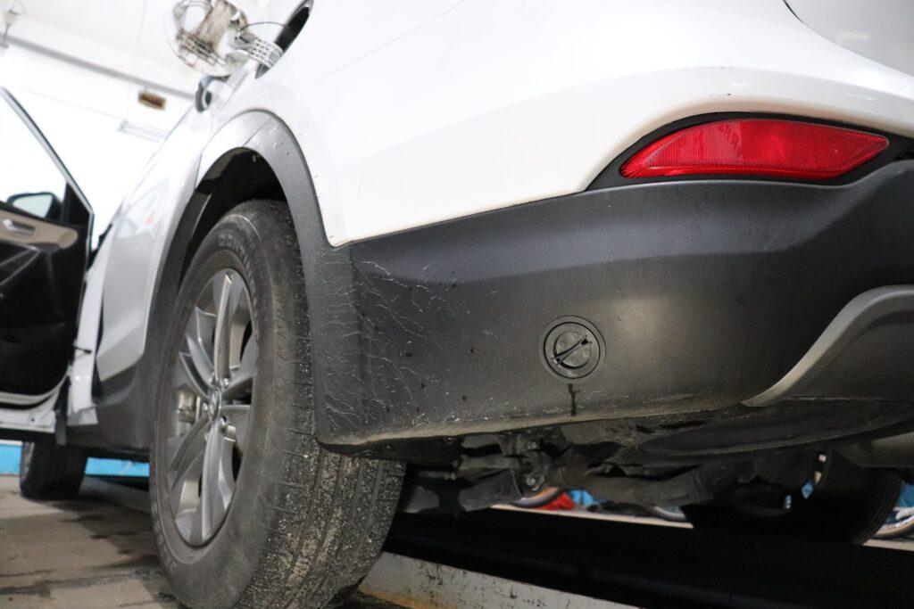установка газобаллонного оборудования на Hyundai Santa Fe