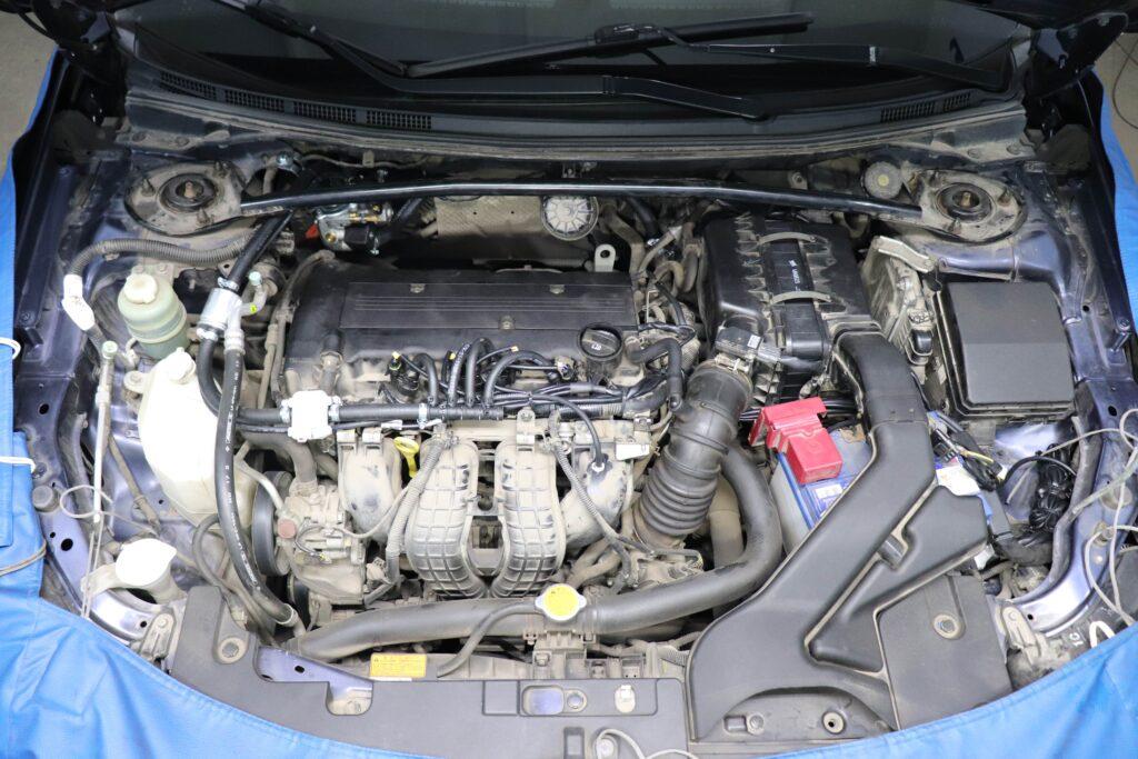 установка газобаллонного оборудования на Mitsubishi Lancer X