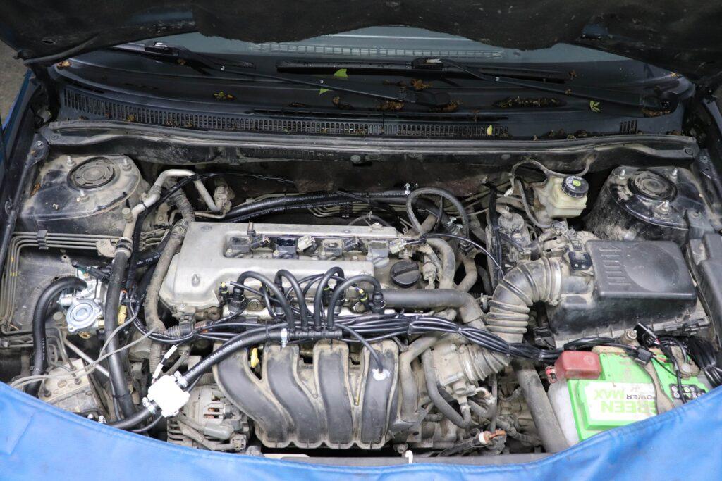 установка газобаллонного оборудования на Toyota Corolla