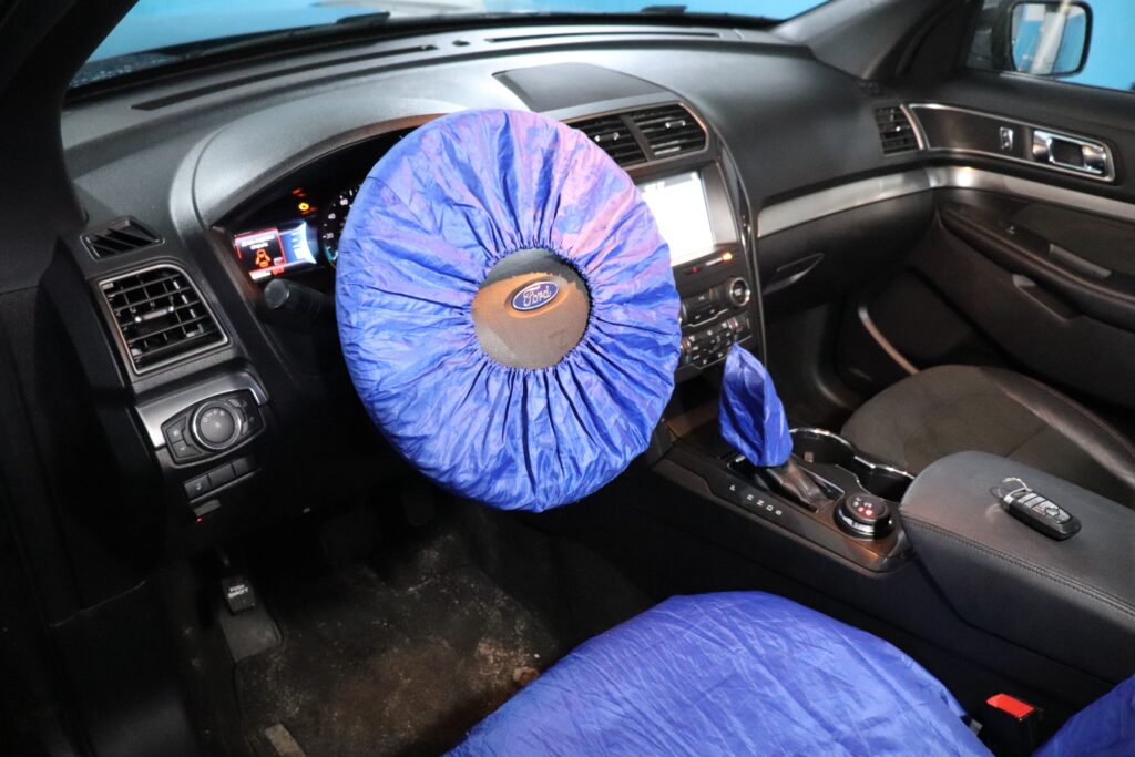 установка газобаллонного оборудования на Ford Explorer