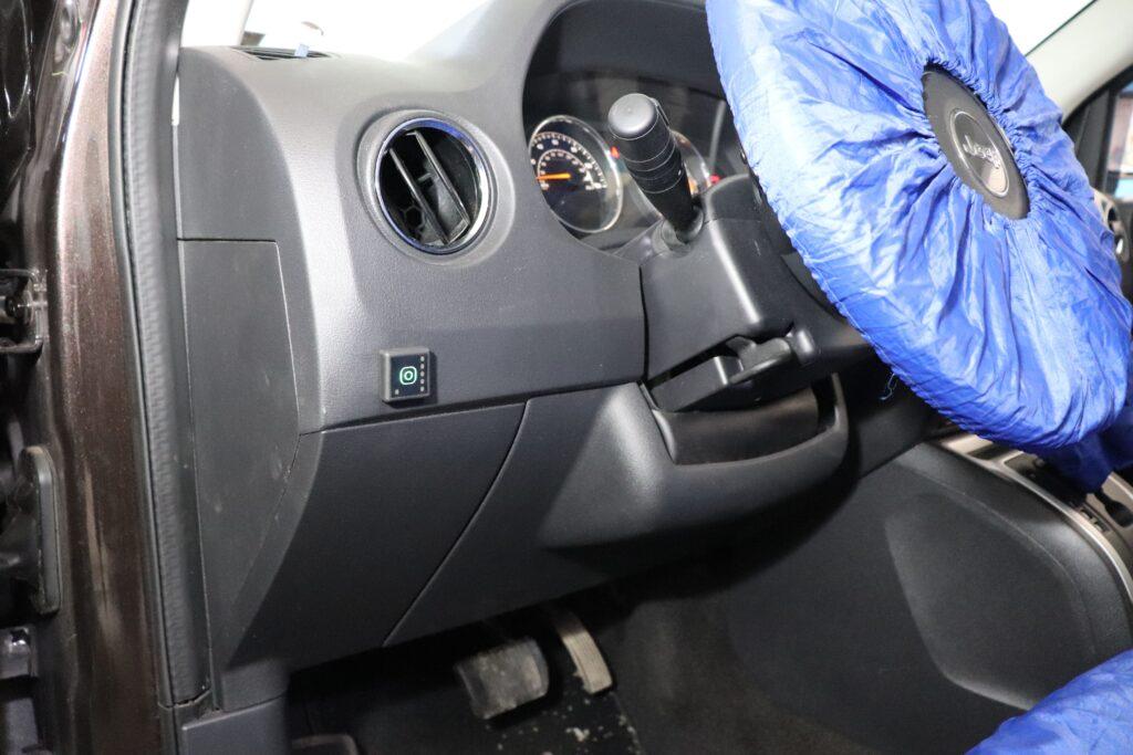 установка газобаллонного оборудования на Jeep Compass